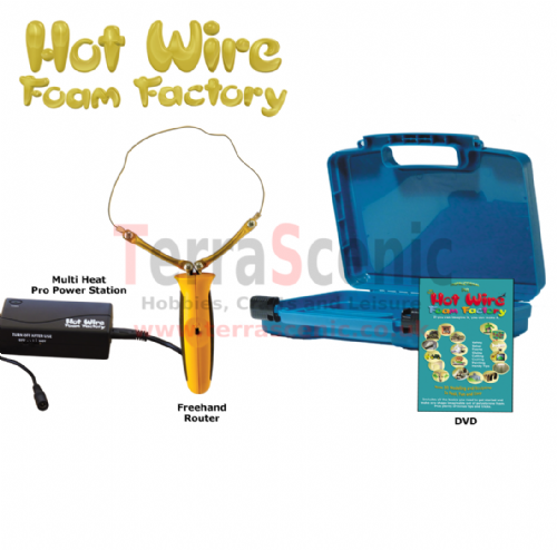 Polystyrene Cutter FREEHAND ROUTER PRO KIT Hot Wire Foam Factory